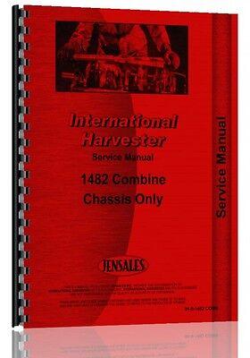 International Harvester 1482 Combine Service Manual
