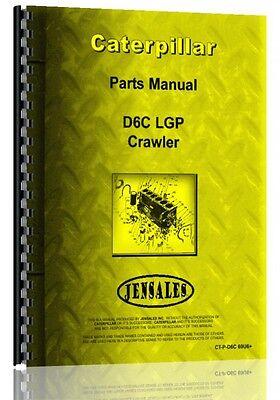 Caterpillar D6c Crawler Parts Manual  S N 69U613