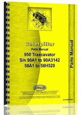 Caterpillar 950 Wheel Loader Parts Manual Sn 58h1-58h520