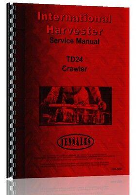 International Harvester Td24 Crawler Service Manual