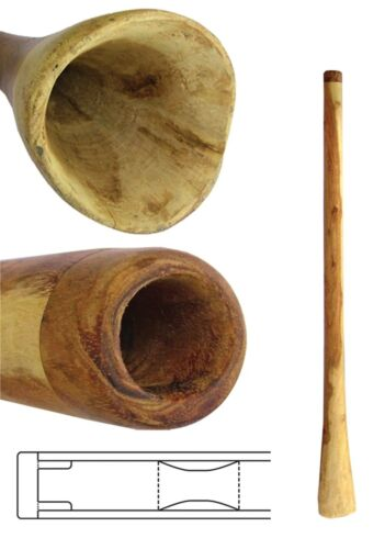 Didgeridoo Eucalyptus 48 inch, small bell end, 20% off