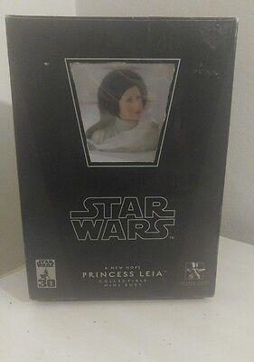 Star Wars A New Hope PRINCESS LEIA mini bust~ANH~statue~ Fisher~Gentle Giant~NIB