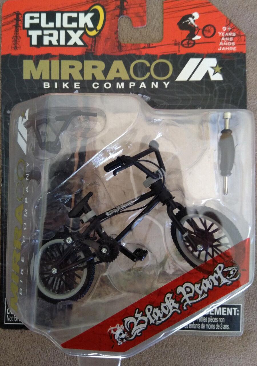 New Flick Trix Finger Bmx Bike Toy Mirraco Black Pearl Rare Ebay