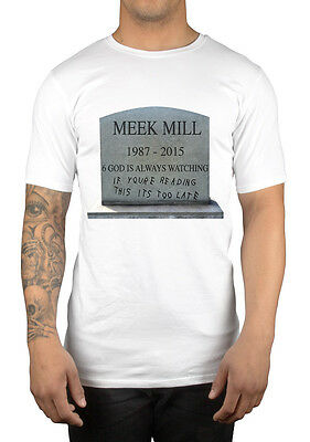 RIP Meek Mill Tombstone T-Shirt Dreamchasers DC MMG Maybach Music Clothing (Dreamchasers Apparel)