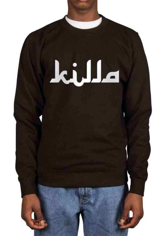Killa Slogan T-Shirt Tee Hood By Air Trill Dope Swag Clothing Tumblr Instagram