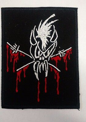 Metallica Embroidered patch small bloody skull USA SELLER FAST DELIVERY
