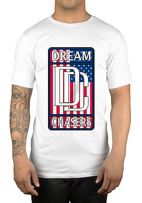 Dreamchasers DC USA Flag T-Shirt Clothing Sweatshirt Hoodie Meek Mill MMG (Dreamchasers Apparel)