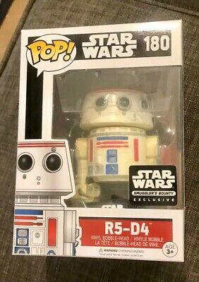Funko Pop! Star Wars - R5-D4 (Smuggler's Bounty Exclusive) New in Box
