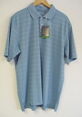 Gear For Sports Golf Polo Shirt Large Blue NWT
