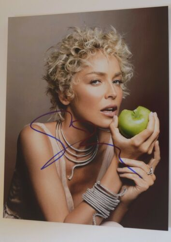 Sharon Stone Signed Autographed 11x14 Photo BASIC INSTINCT CASINO VD