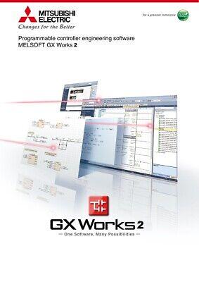 Gx-works2 V1.560j Mitsubishi Plc Programming Software Key Activation Gxworks2