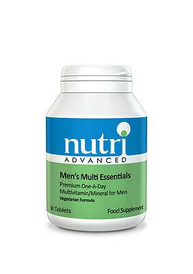 (Men's Multi Essentials - 60 Tablets by Nutri Advanced - Multivitamin & Mineral)