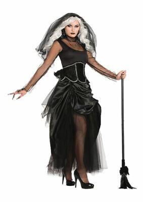 Ladies Halloween Spooky Spider Bat Costume Shadow Ghost Fancy Dress