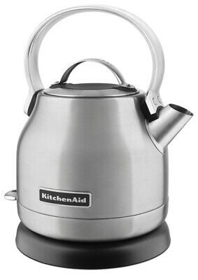 KitchenAid Refurbished 1.25 Liter Electric Kettle | Brushed Stainless Steel