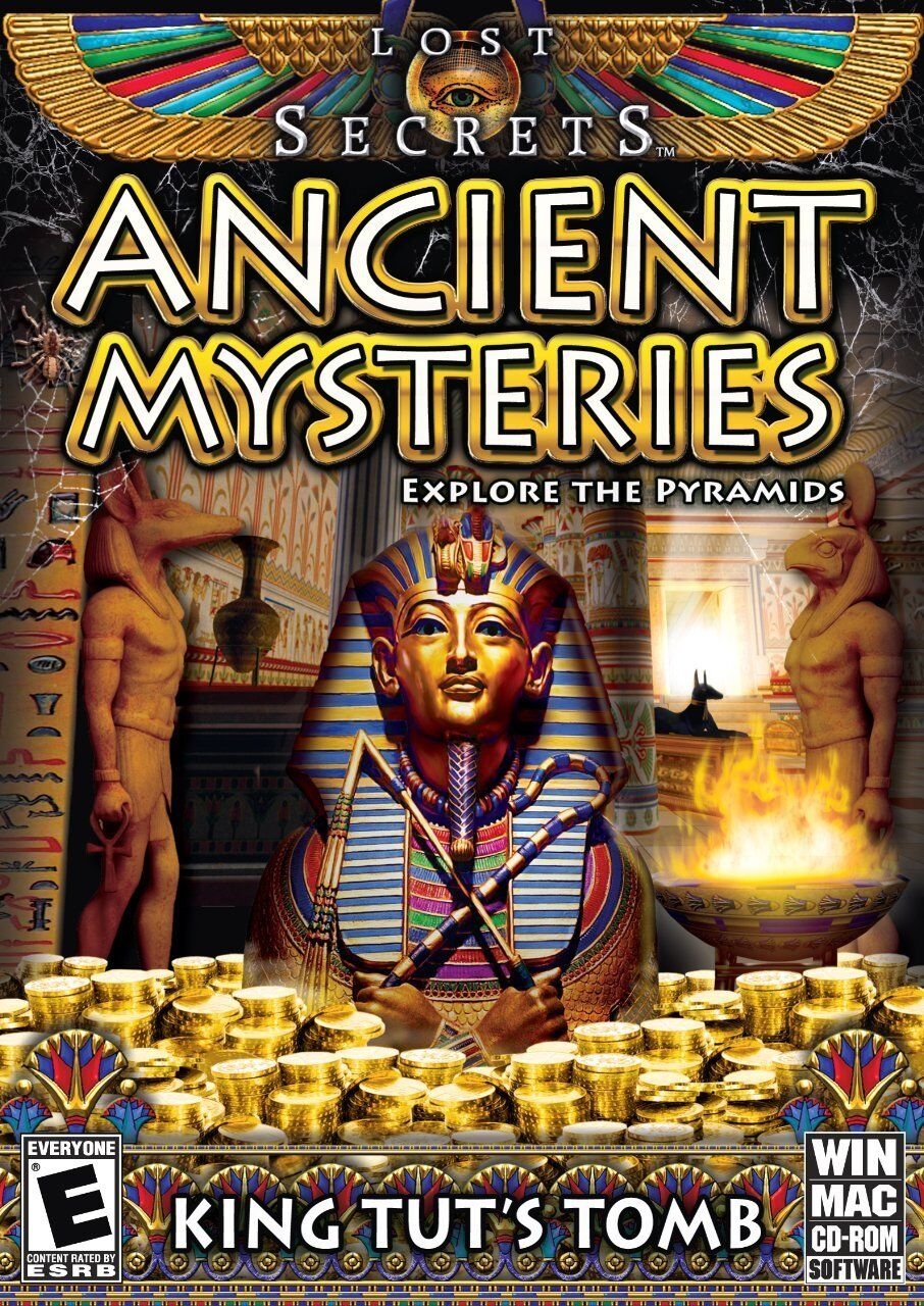 Computer Games - Lost Secrets Ancient Mysteries King Tut's Tomb PC Game Window 10 8 7 XP Computer