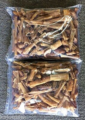 Natural Dental Chews - Natural Steer Ends & Pieces & Sticks 10Lbs Bully Dog Chews Dental