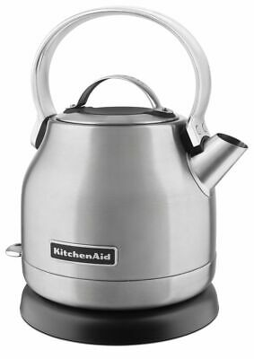 KitchenAid 1.25 L Electric Kettle, Brushed Stainless Steel (KEK1222SX)