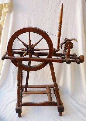 seltenes altes Spinnrad - TK222-0816