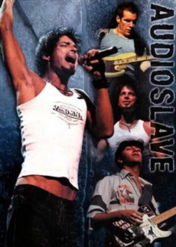 AUDIOSLAVE BAND MUSIC POSTER Original Published Poster Chris Cornell