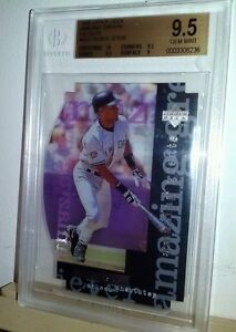 1998 amazing greats Derek Jeter BGS 9.5 1/1