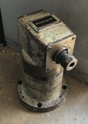 Ikegai Horizontal Boring Mill Right Angle Milling Head 16 Reach 40 Taper