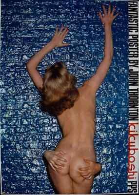 SEXY BUTTOCKS Vintage 1977 Japanese Personality poster 24x34 JOHN THORNTON NM