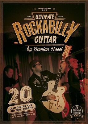 """Ultimate Rockabilly Guitar"" instructional DVD lesson  on Rummage"