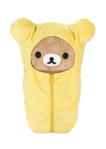 "Rilakkuma by San-X 15"" Sleeping Bag plush, doll, stuffed animal Authentic Licens"