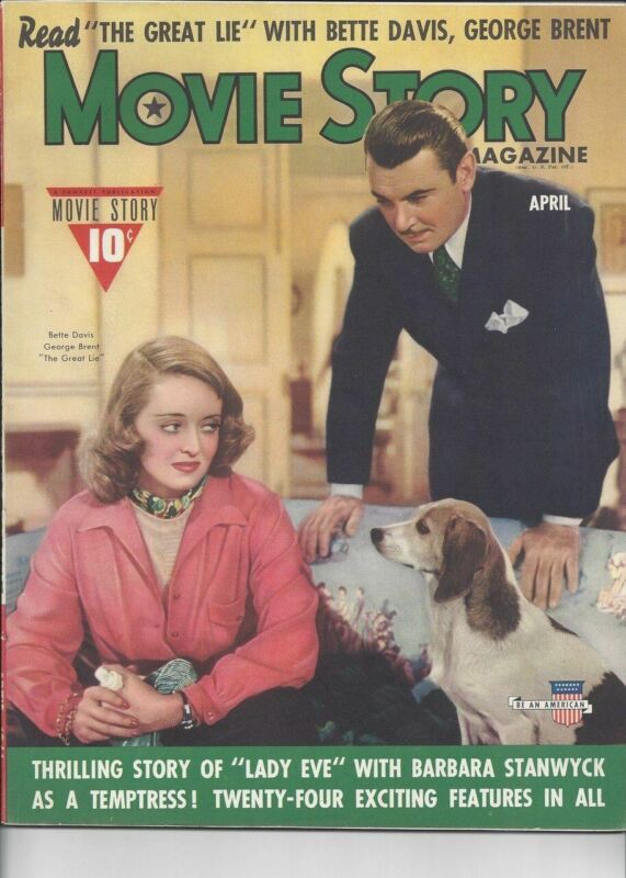 Movie Story - Bette Davis and George Brent April 1941