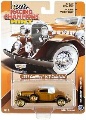 Chase 1931 CADILLAC V16 1/64 DIECAST MODEL CAR RACING CHAMPIONS RCSP015