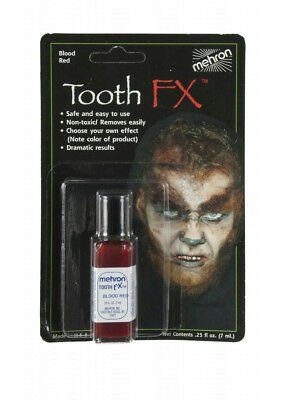 Mehron Tooth FX Liquid Paint On Tooth Color Blood Red (Tooth Paint)