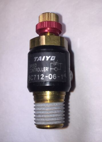 NEW TAIYO SPEED AND FLOW CONTROLLER (#SC712-06-1)
