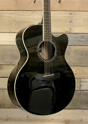 Yamaha CPX600 Acoustic/Electric Guitar Black for sale  Shipping to India