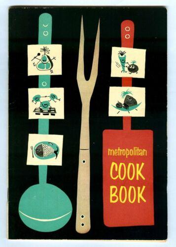 Vintage 1955 METROPOLITAN COOK BOOK! Metropolitan Life Insurance Co. (MetLife)