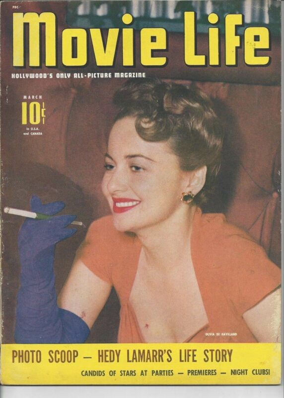 Olivia De Havilland - Movie Life - March 1942