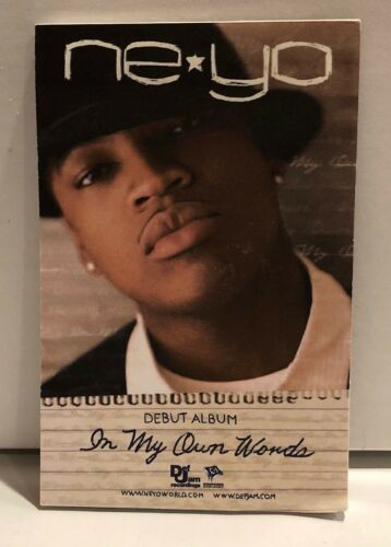 Ne-Yo In My Own Words RARE promo notepad and pencil