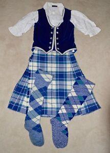 Highland Dance - Kilt, vest, blouse & hose