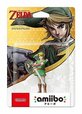 NEW Nintendo 3DS Amiibo Link Twilight Princess The Legend of Zelda JAPAN IMPORT, used for sale  Shipping to Canada