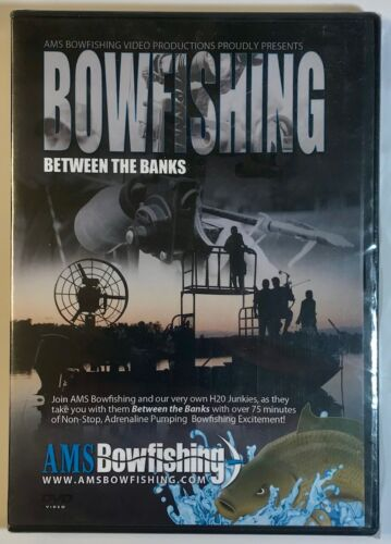 AMS BOWFISHING DVD ( BETWEEN THE BANKS) INSTRUCTION GUIDE