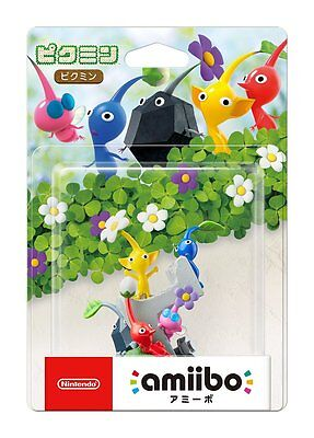 New Nintendo 3Ds Amiibo Pikmin Series Japan Official Import Free Shipping