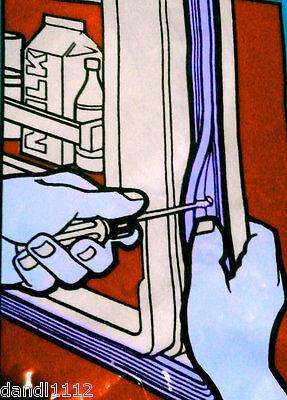Universal Vintage Refrigerator Door Replacement  Seal Price Per foot e