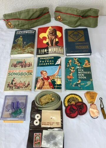 Vintage Lot of BSA Boy Scouts 1970