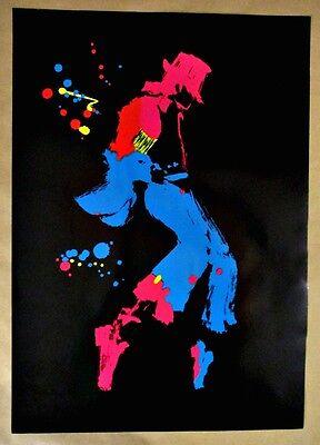 Michael Jackson Poster - Nate Giorgio Rare Limited Circulation -Black Background