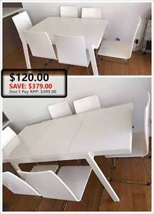 $499 drop to $120!!!!Covertible dinning table Lane Cove North Lane Cove Area Preview