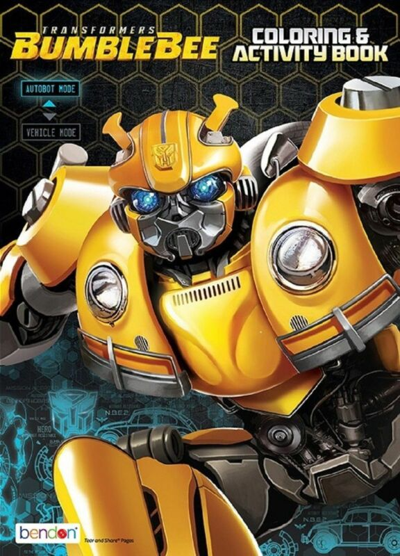 Coloring Book - Transformers - Coloring and Activity Book - 64p - Bumblebee