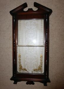 Small Wall Curio Cabinet Bacchus Marsh Moorabool Area Preview