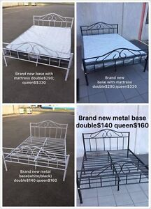 Brand new metal bed frame with mattress single$190double$290,queen$330 Chadstone Monash Area Preview