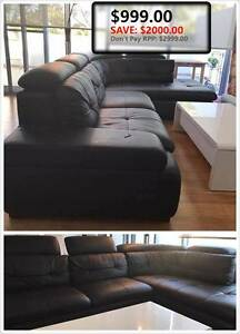 $2999 drop to $999!!! Leather Sofa!! Lane Cove North Lane Cove Area Preview