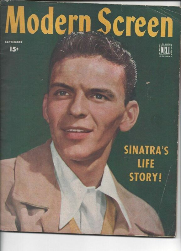Modern Screen - Frank Sinatra - September 1944