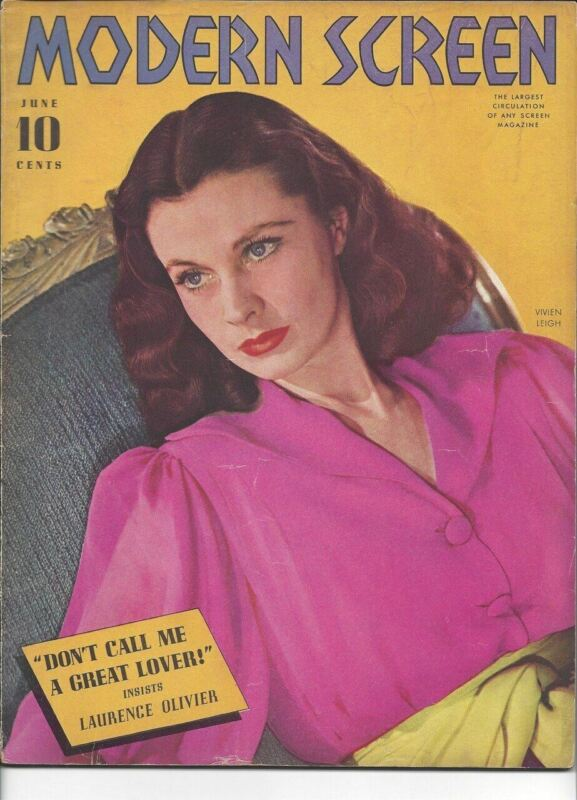 Modern Screen - Vivien Leigh - June 1940
